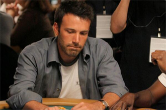 Ben Affleck counting cards