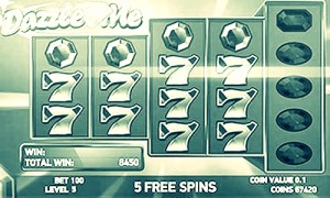 dazzle me slot game